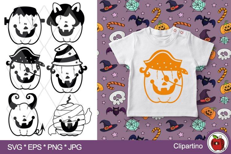 Halloween Pumpkin SVG Bundle-Halloween vector cut files