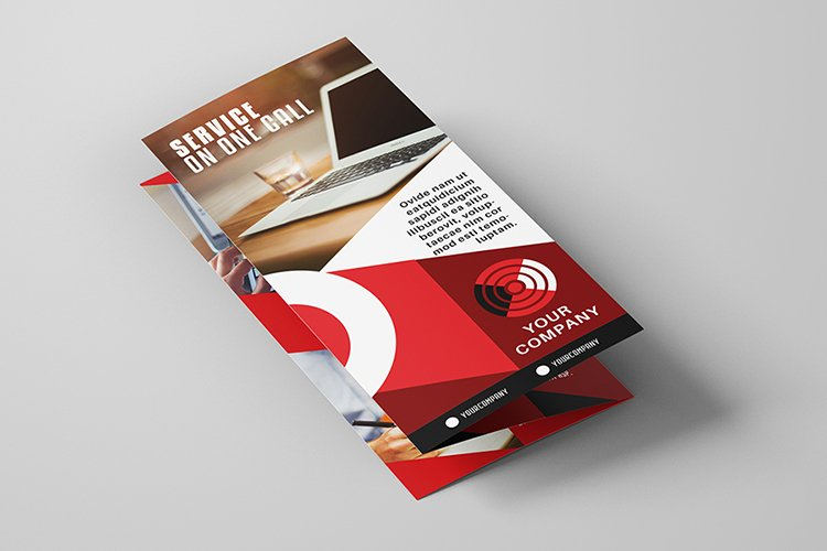 Business Tri-Fold Brochure Template