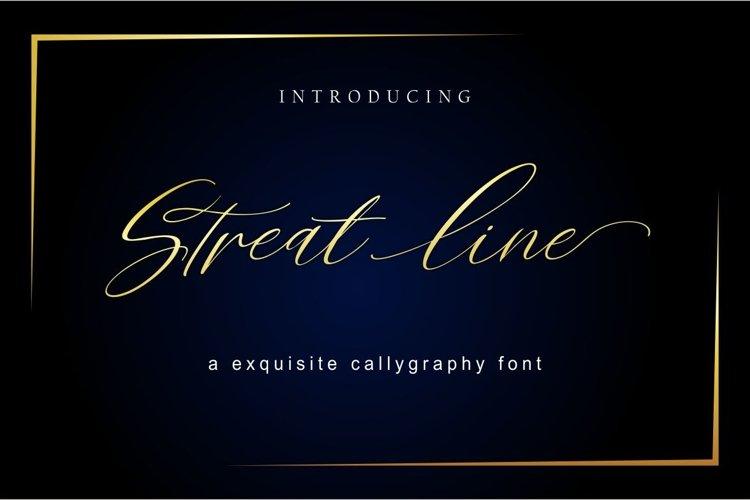Streat line example image 1