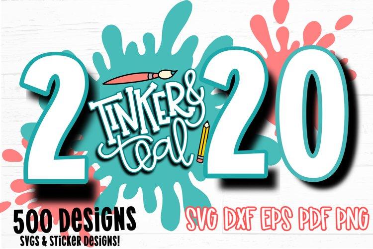 2020 Design Bundle - SVG Bundle - Sticker Bundle - SVG example image 1