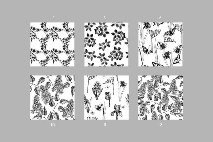 Floral Patterns Bundle example 4