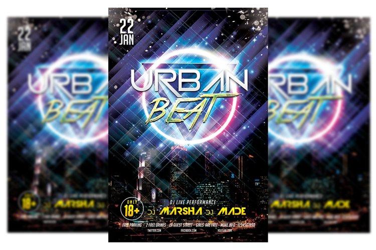 Urban Beat Party 537068 Flyers Design Bundles