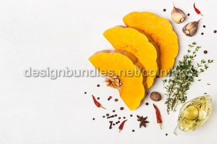 Autumn seasonal vegetables example image 1