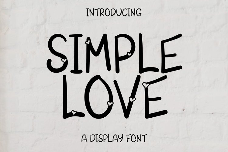 Simple Love example image 1