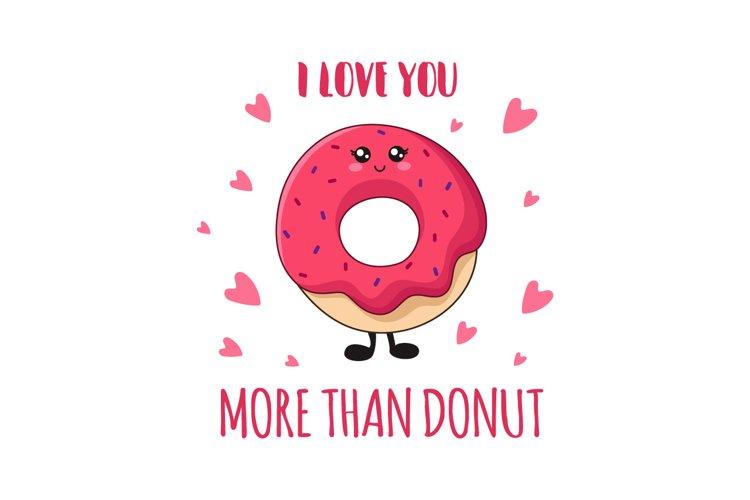 Kawaii Sweet Donut example image 1
