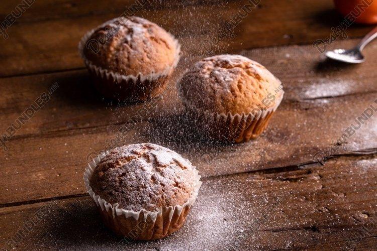 Orange cupcake example image 1