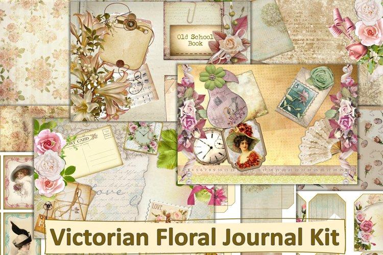 Victorian Journal Kit with free ephemera