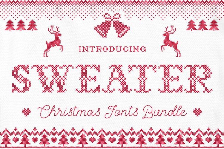 Sweater Font + BONUS