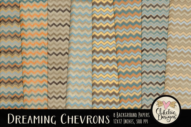 Dreaming Chevron Beachy Background Textures example image 1
