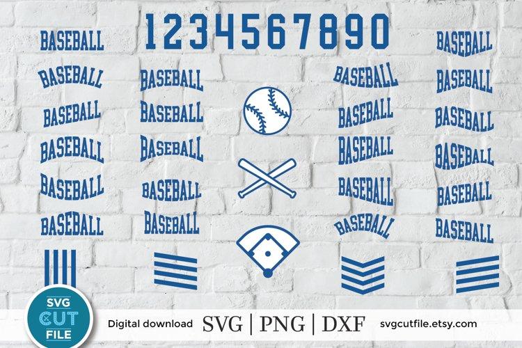 Baseball svg, Baseball bundle svg, baseball svg bundle example image 1