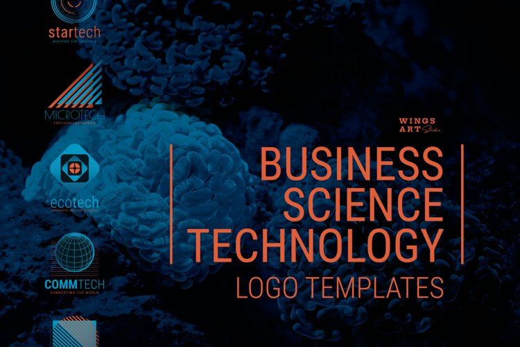 Science and Technology Logo Templates
