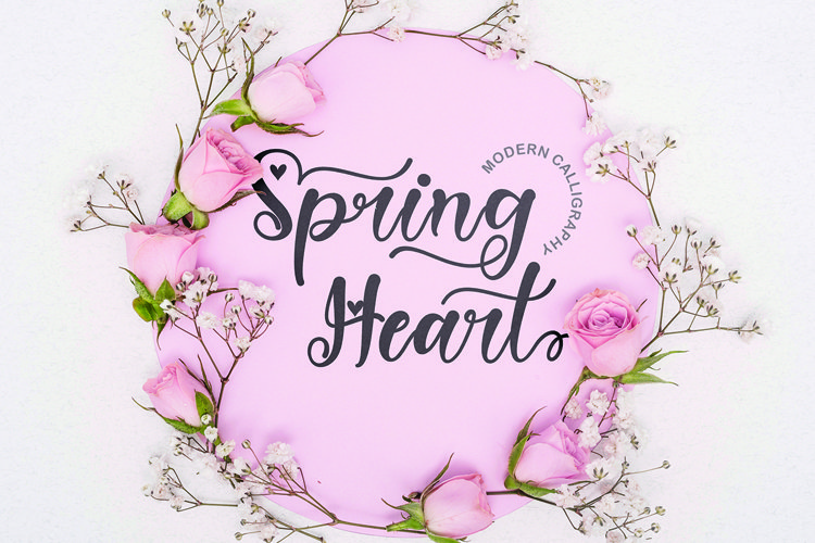 Spring Heart example image 1