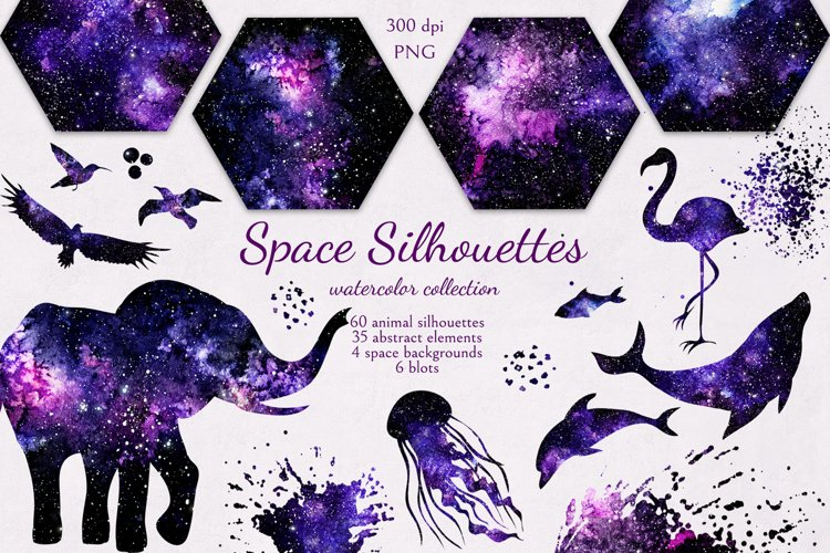 Space Silhouettes