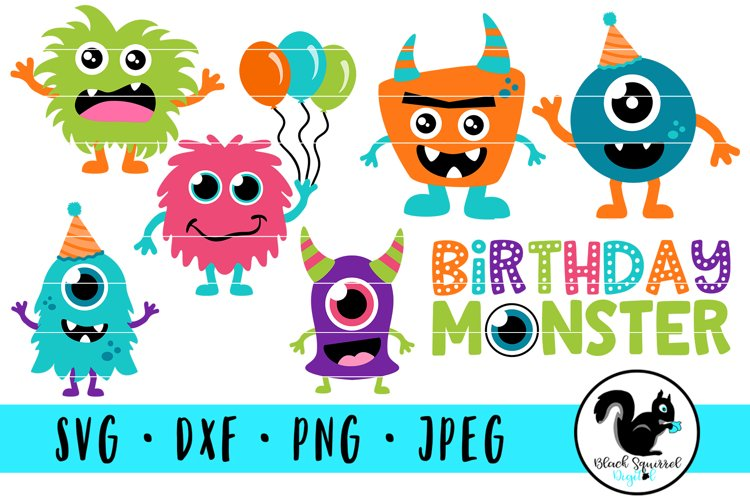 Cute Monsters Birthday Bash Bundle, Little Monster Party example image 1
