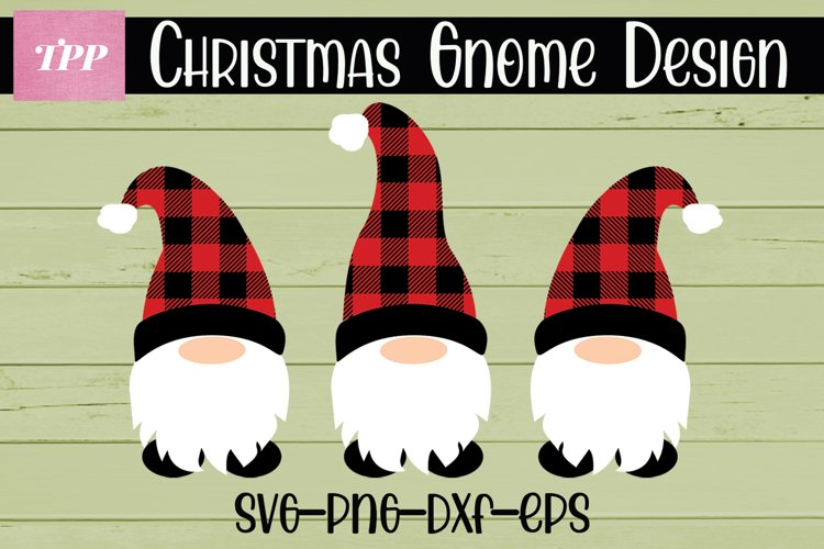 Christmas Gnome SVG, Plaid Gnome Svg, Christmas Gnomes png
