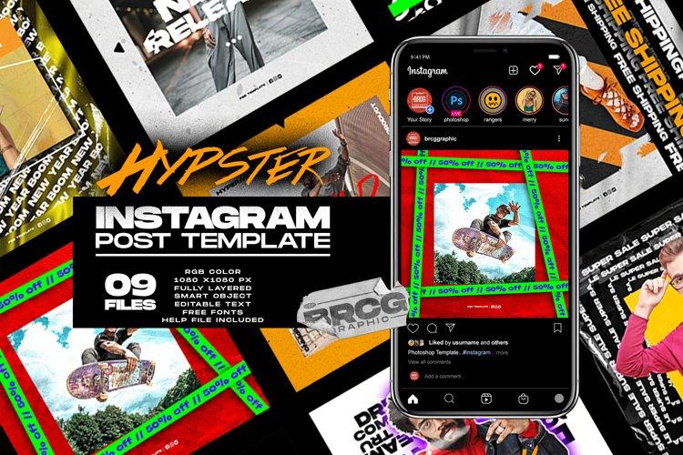 Hypster Instagram Template