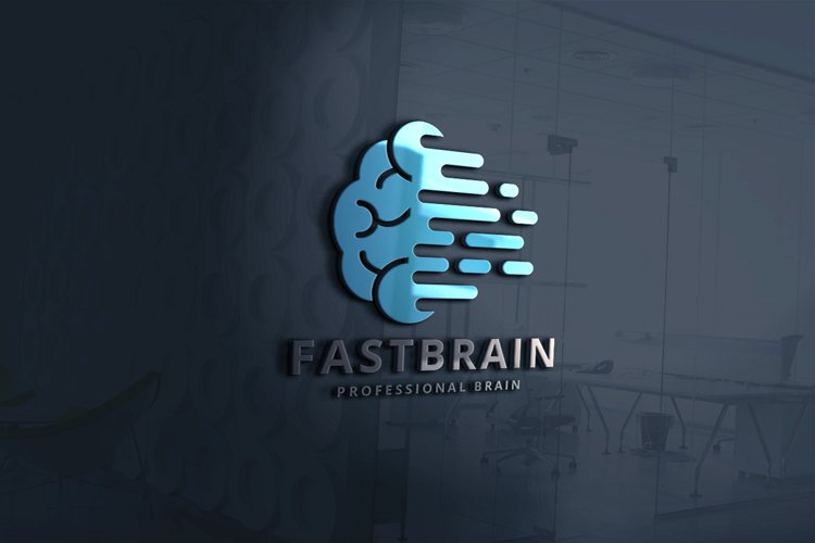 Fast Brain Logo example image 1