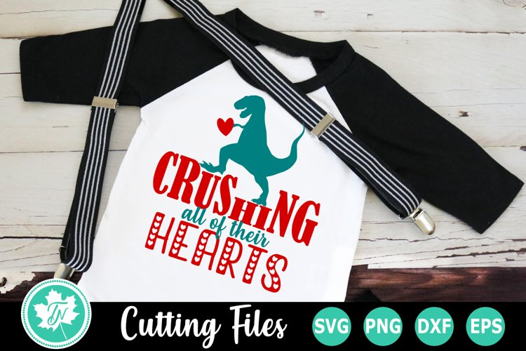 Valentine SVG | Valentines Day SVG |Crushing all the Hearts