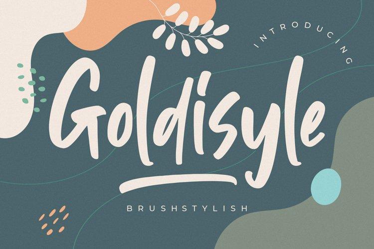 Goldisyle Brush Stylish example image 1