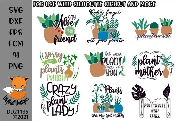 Plant Lover Bundle SVG