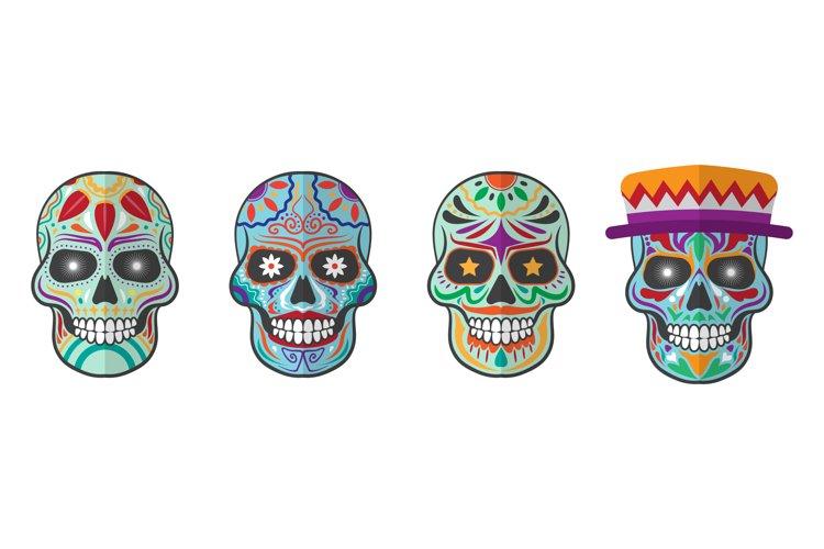 Sugar Skull Illustrations