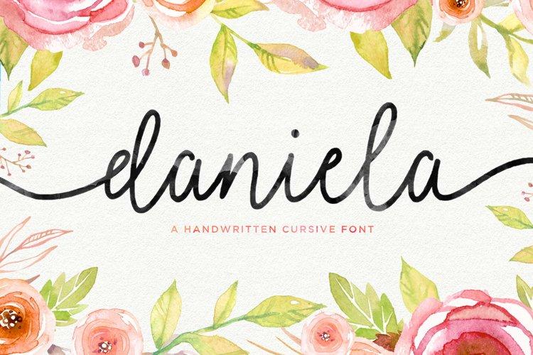 Daniela Script example image 1