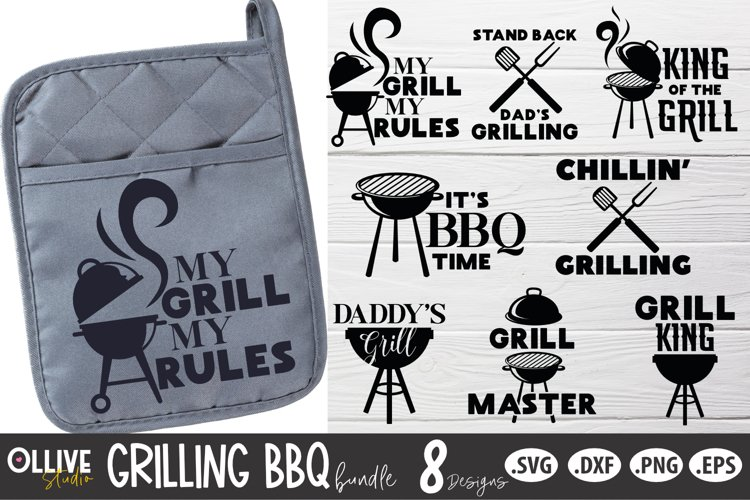 Grilling BBQ SVG Bundle   Fathers Day SVG Bundle
