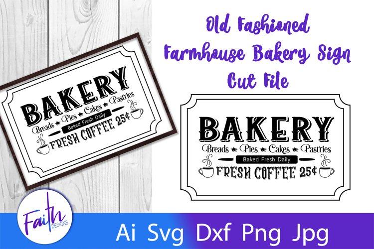 Farmhouse Kitchen Bakery Sign SVG Cut File