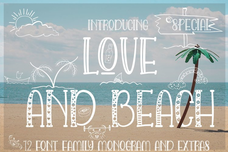 LOVE AND BEACH example image 1