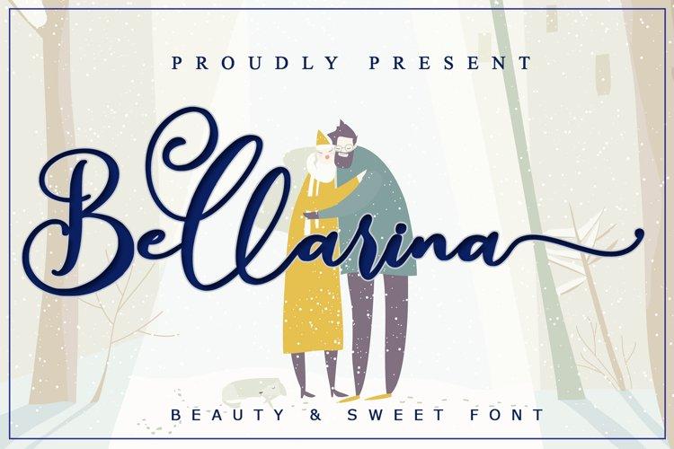 Bellarina // Wedding Font - WEB FONT example image 1
