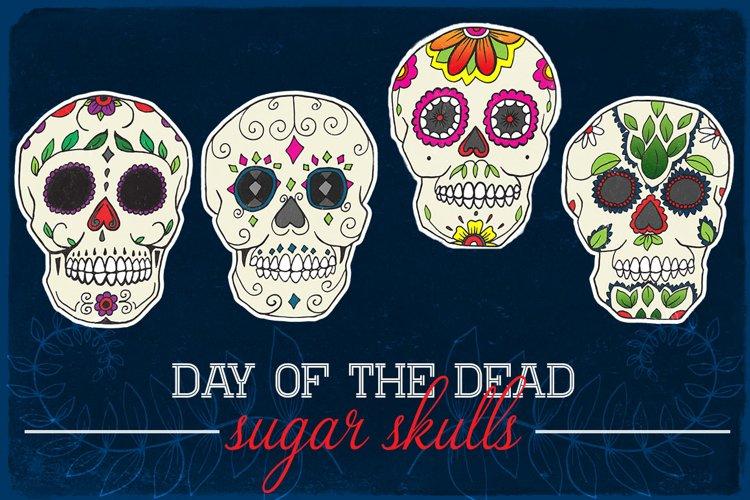 Day of the Dead Calavera Sugar Skulls example image 1