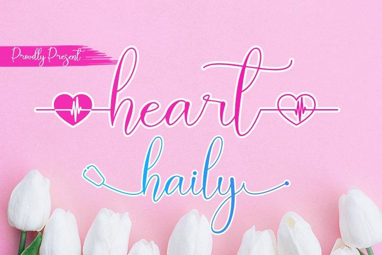 Heart Haily example image 1