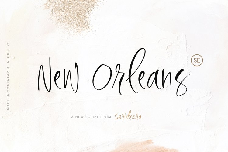 New Orleans - Stylish Script example image 1