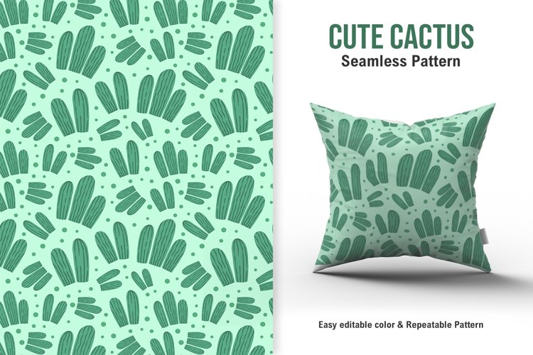 Cute Cactus Pattern example