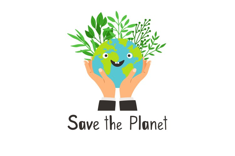 Save planet banner example image 1