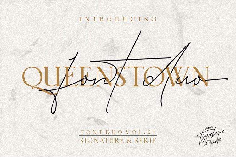Queenstown // Font Duo Vol.01 example image 1