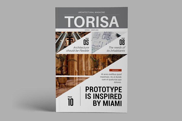 Architecture Magazine Template - Torisa