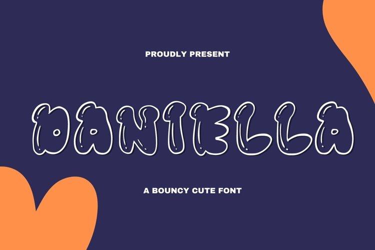 Web Font Daniella Font example image 1