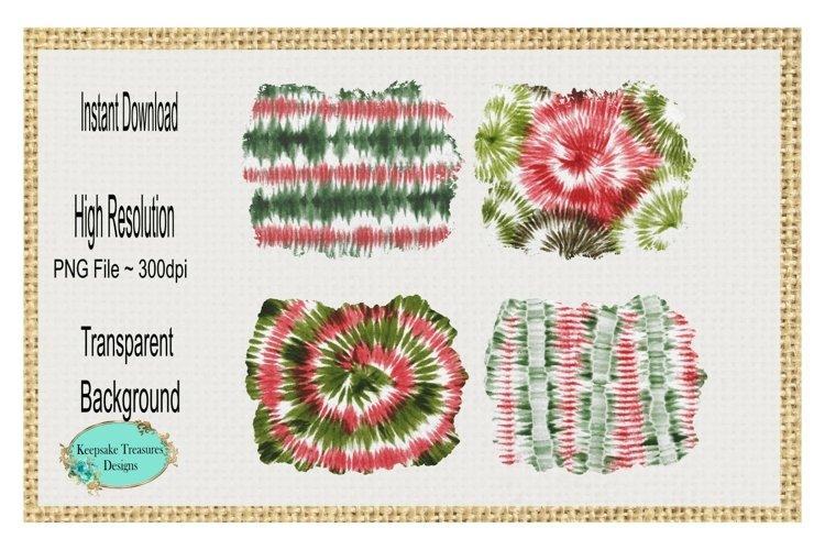 Christmas Tie Dye Sublimation Background Splashes