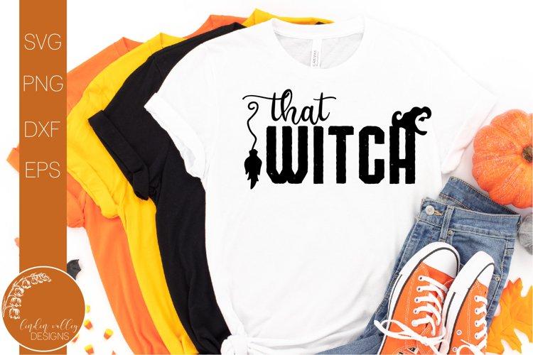 That Witch SVG-Halloween SVG