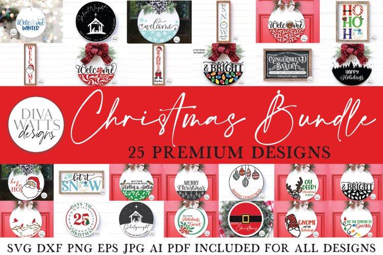 Christmas SVG Bundle of 25 Premium Designs | Sign Making SVG
