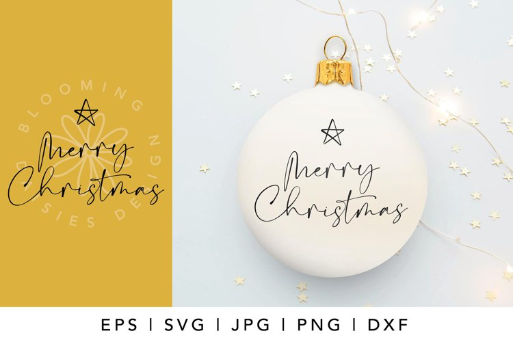 Merry Christmas SVG cut file, Christmas shirt SVG