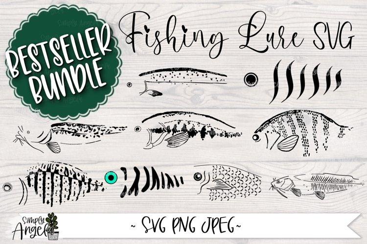 BESTSELLER BUNDLE Fishing Lure SVG Bundle example image 1