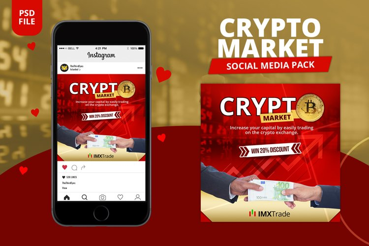Crypto Currency Social Pack