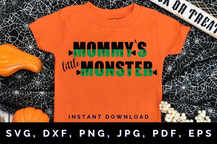 Mommys Little Monster svg, Halloween svg, Monster svg