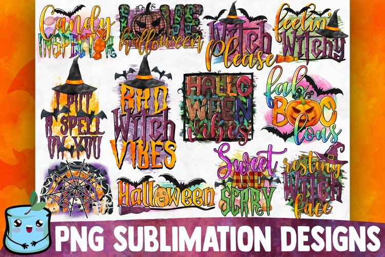 Halloween Sublimation Bundle example image 1