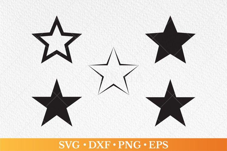 Star svg, star silhouette, stars svg, star clip art,