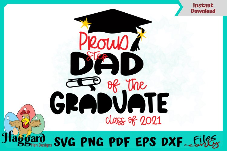 Proud Step Dad Graduate example image 1