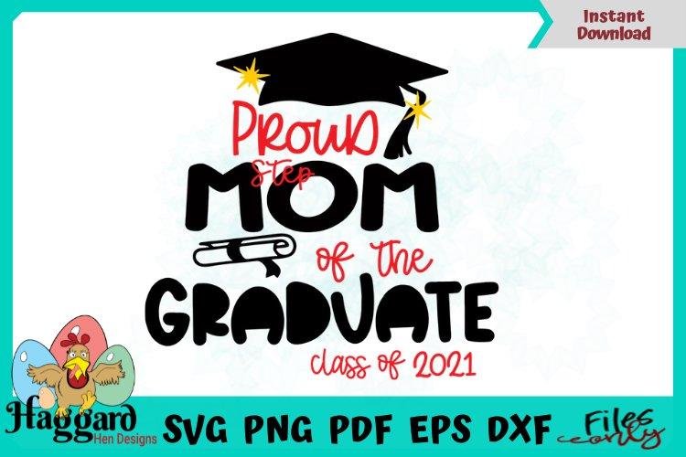 Proud Step Mom Graduate example image 1