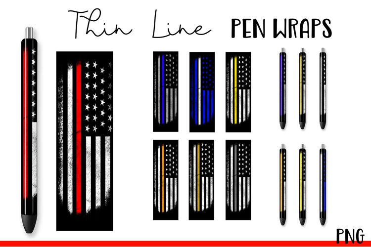 Thin Line Pen Wraps Bundle